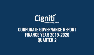Corporate Governance Report Finance Year 2019-2020 Quarter 2