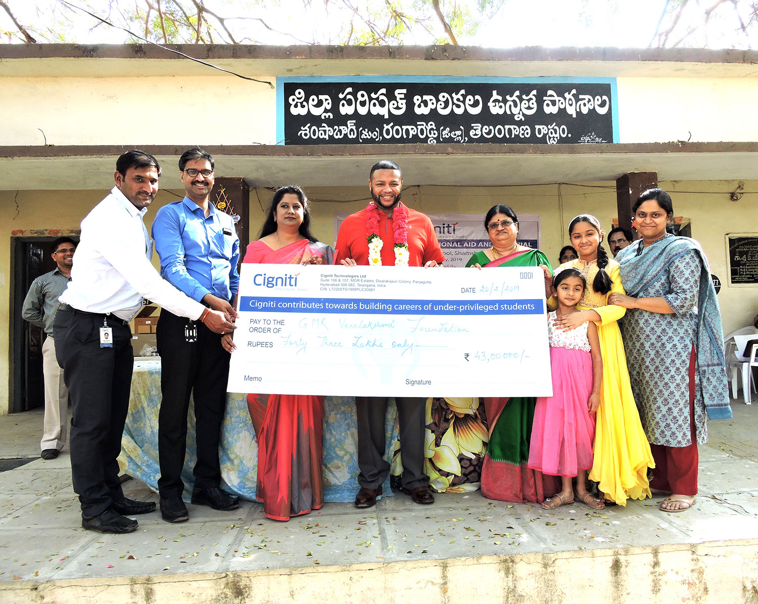CSR arm of GMR Group