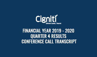 financial year 2019 - 2020 Quarter 4 Results Conference Call Transcript
