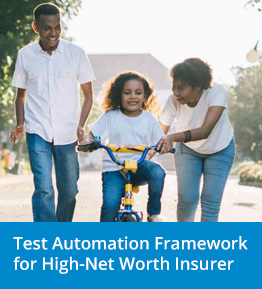 Test Automation Case Study in Insurance Industry